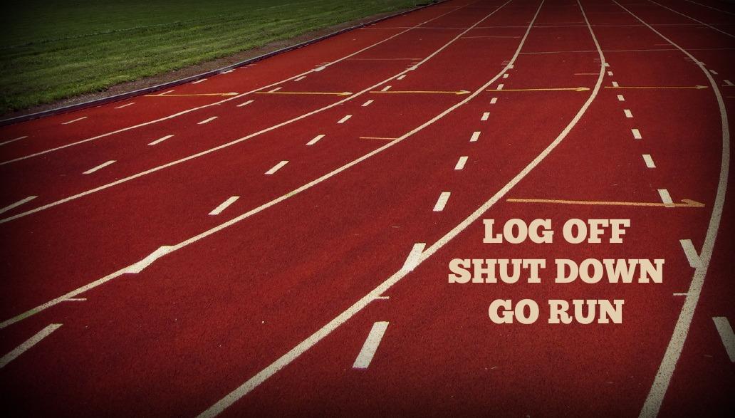 À vos marques, prêts, courez!