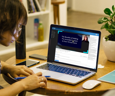 How to successfully run prerecorded sessions during your virtual event